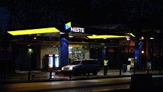 АЗС компании Neste в Санкт-Петербурге. Архив
