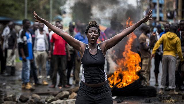 Луис Тато. Беспорядки в Кении после выборов