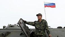 Военнослужащий России. Архивное фото