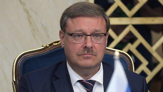 Председатель комитета Совета Федерации РФ по международным делам Константин Косачев. Архивное фото