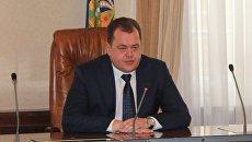 Министр строительства и ЖКХ Астраханской области Василий Корнильев. Архивное фото