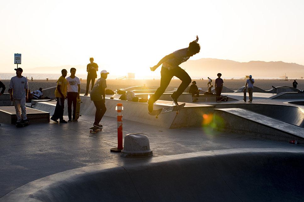 Секйт-парк в Лос-Анджелесе