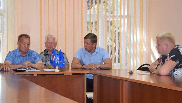 Исключение депутата Ровенского районного Собрания Саввы Коргунова из Партии и местного политического совета Единой России