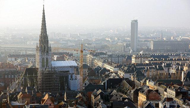 Вид на город Руан