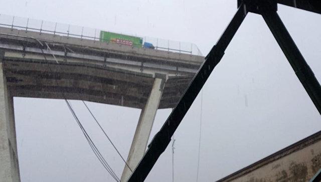 На севере Италии обрушился мост