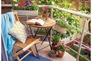 Секундное дело: самые удобные варианты складной мебели для дачи