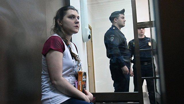 """Активистку """"Нового величия"""" Анну Павликову выпустили из СИЗО"""
