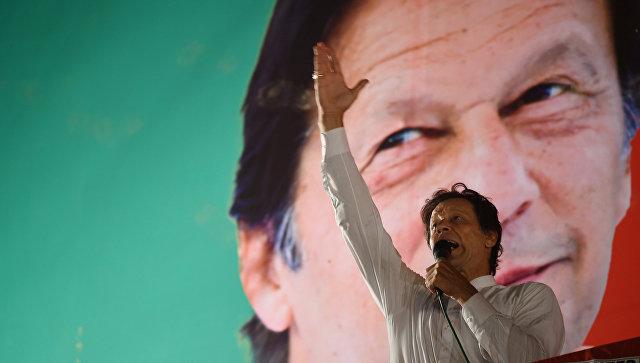 Пакистанский политик Имран Хан. Архивное фото