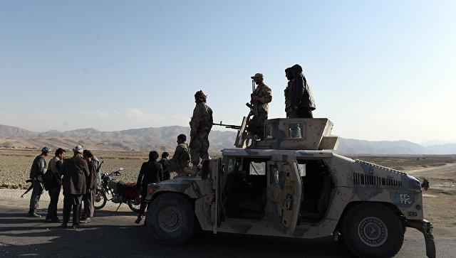 Афганские военные в провинции Фарьяб