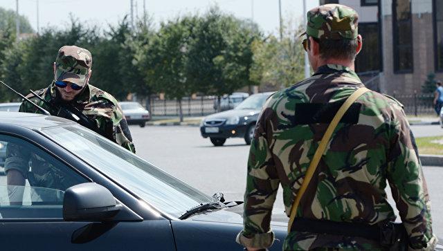 Сотрудники министерства внутренних дел Чеченской Республики. Архивное фото
