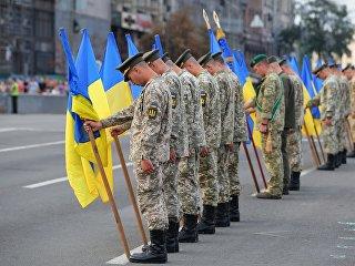 Военнослужащие Украины на параде. Архивное фото