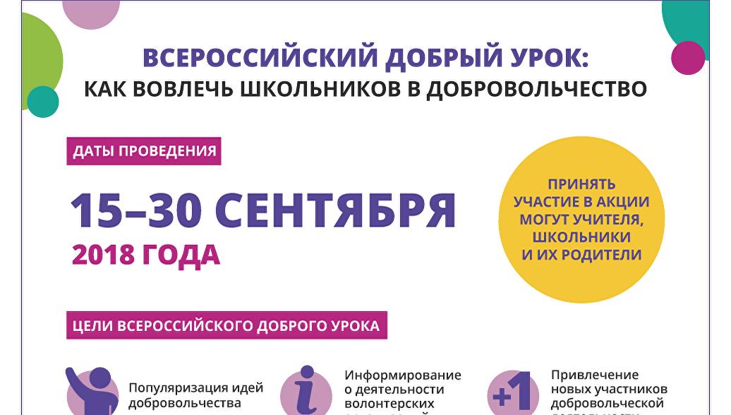 Картинки по запросу «Всероссийский добрый урок»