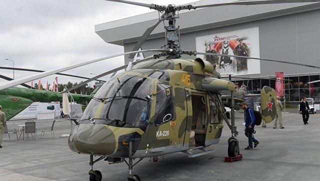 Россия начнет совместное производство Ка-226 для Индии до конца года