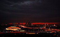 Вид на стадион «Лужники» перед финалом ЧМ-2018 по футболу