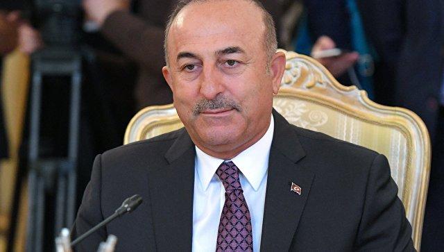 МИД Турции Мевлют Чавушоглу. Архивное фото