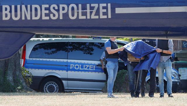Задержание мужчины, планировавшего теракт в Германии