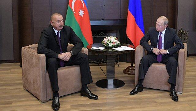 Путин и Алиев обсудили нагорно-карабахский конфликт