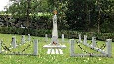 Одно из советских воинских захоронений в Австрии