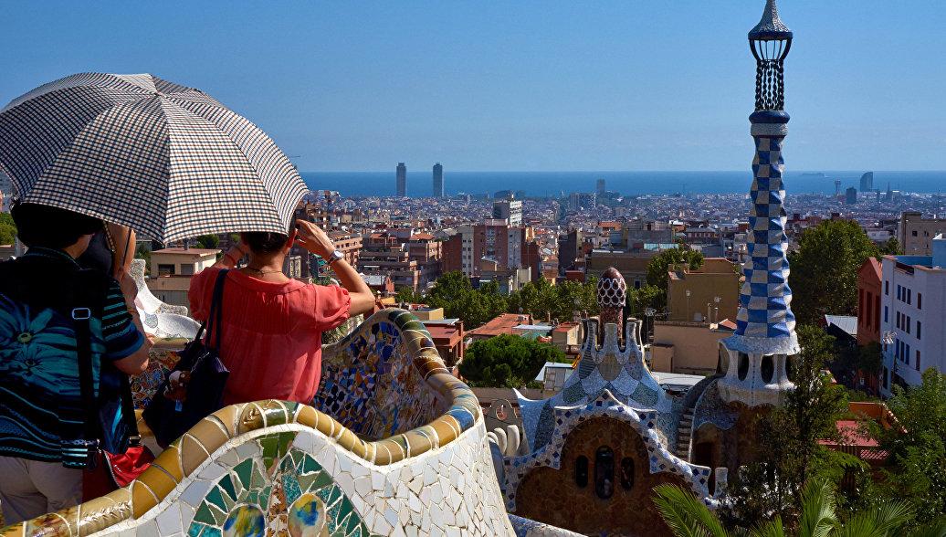 Туристы в Испании. Архивное фото