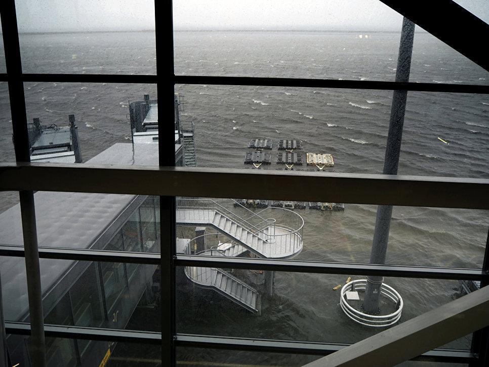 Последствия прохождения тайфуна Джеби в Японии