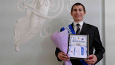 Электрогазосварщик шестого разряда Ислам Гашимов на конкурсе профессионального мастерства Московские мастера 2018
