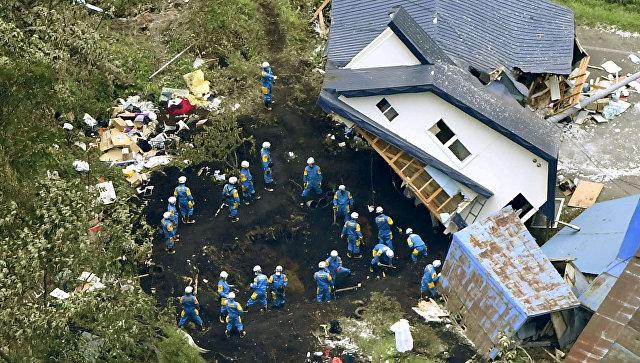 После землетрясения на Хоккайдо произошло более 120 афтершоковых толчков