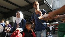 Беженцы из Сирии. Архивное фото