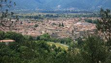 Вид на коммуну Риети, Италия