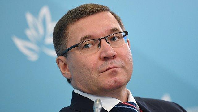 Министр строительства и жилищно-коммунального хозяйства РФ Владимир Якушев на Восточном экономическом форуме