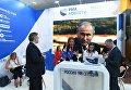 Стенд Международного информационного агентства (МИА) Россия сегодня на IV Восточном экономическом форуме во Владивостоке