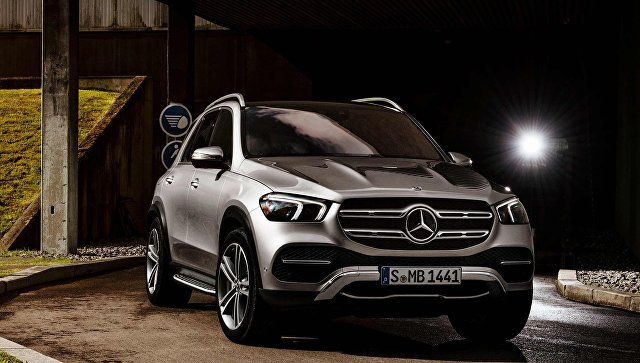Автомобиль Mercedes-Benz GLE нового поколения