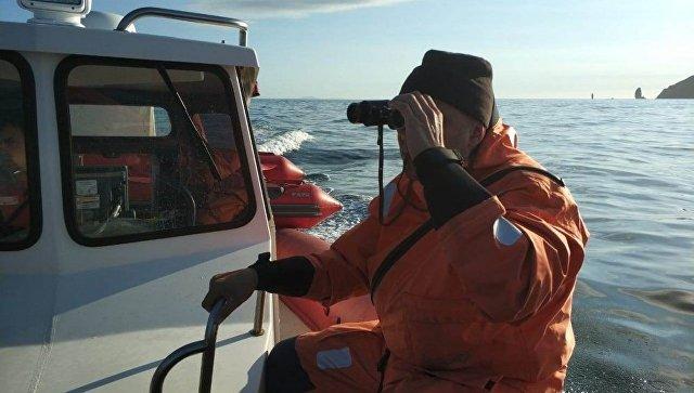 Поисковая операция в бухте Большая Саранная Авачинского залива