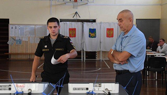 Второй тур выборов губернатора Приморского края