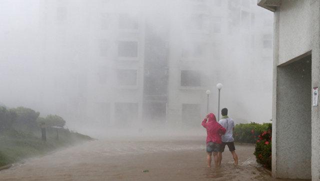 Тайфун Мангхут. 16 сентября 2018