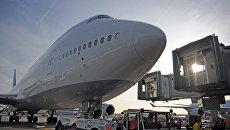 Cамолет Boeing 747-8. Архивное фото
