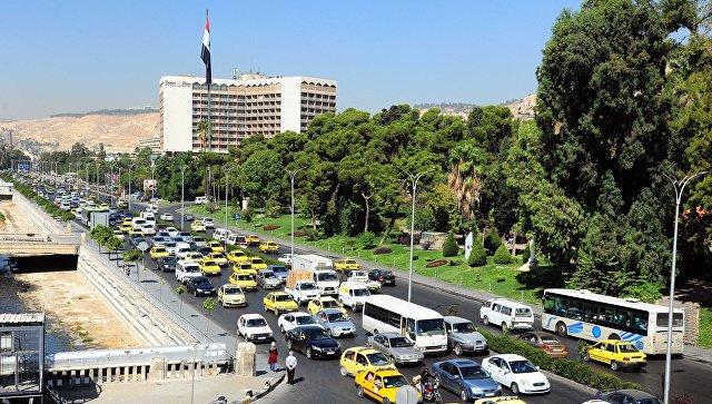 Дамаск, Сирия. 18 сентября 2018