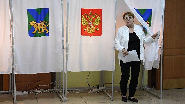 Властям Приморья направили запросы по видеонаблюдению на выборах