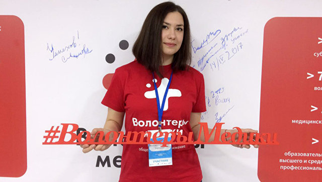 Волонтерство – как стиль жизни будущего врача: история Екатерины Федяшиной