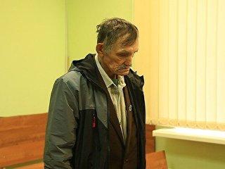 Ветеран труда Игорь Трошев на судебном заседании