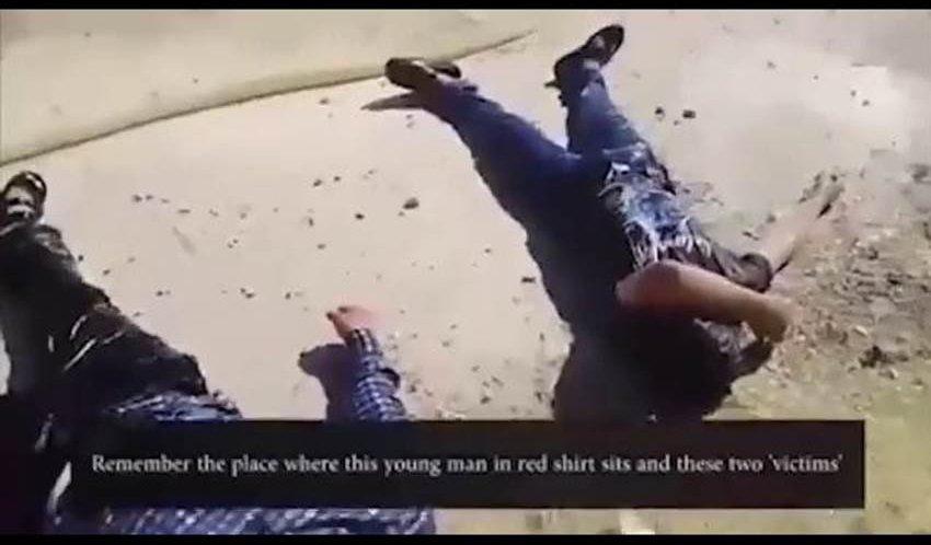 Агентство SANA распространило видеоролик «химической атаки» вИдлибе