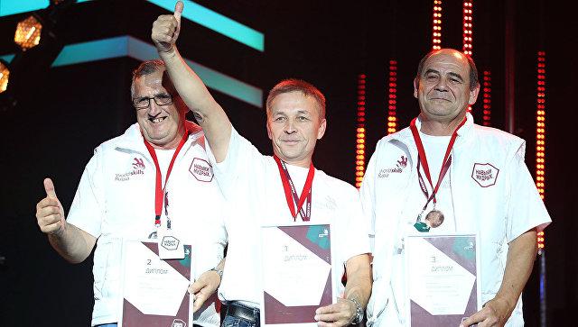 Церемония награждения победителей первого Национального чемпионата Навыки мудрых
