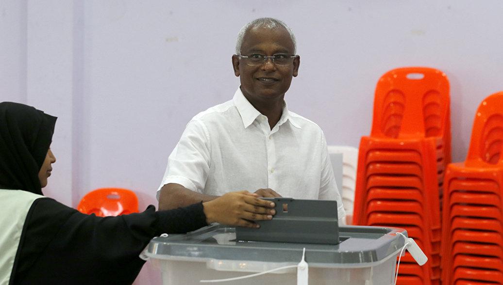 На президентских выборах на Мальдивах победил кандидат от оппозиции