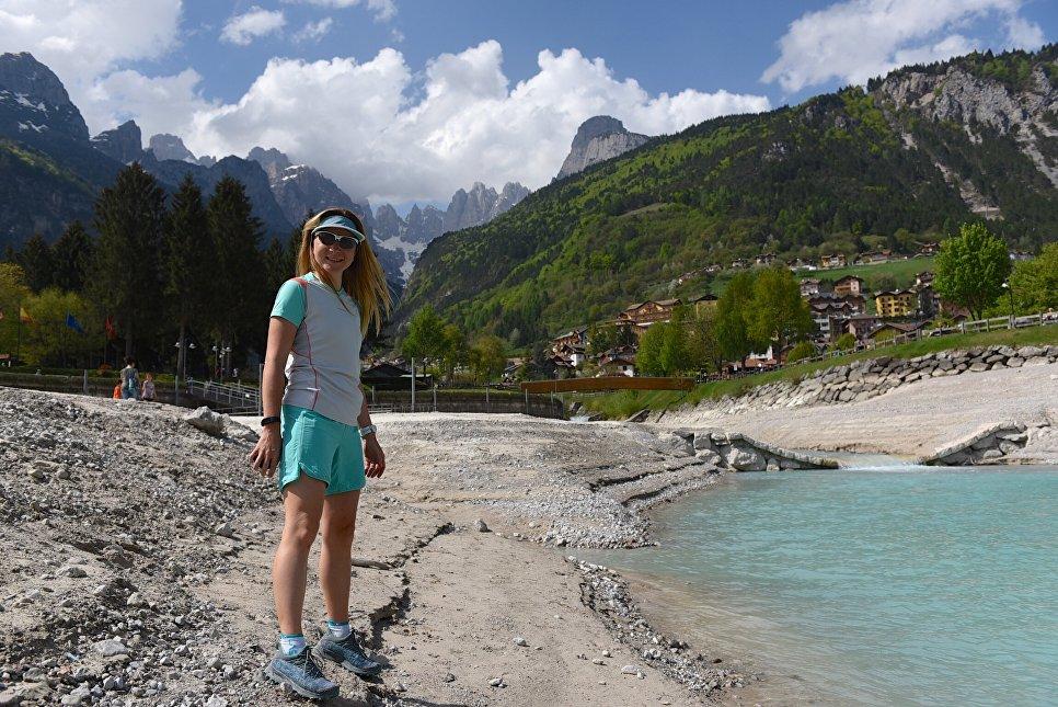 Италия. Доломитовые Альпы. Озеро Молвено