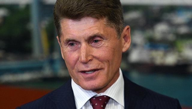 Временно исполняющий обязанности губернатора Приморского края Олег Кожемяко. Архивное фото