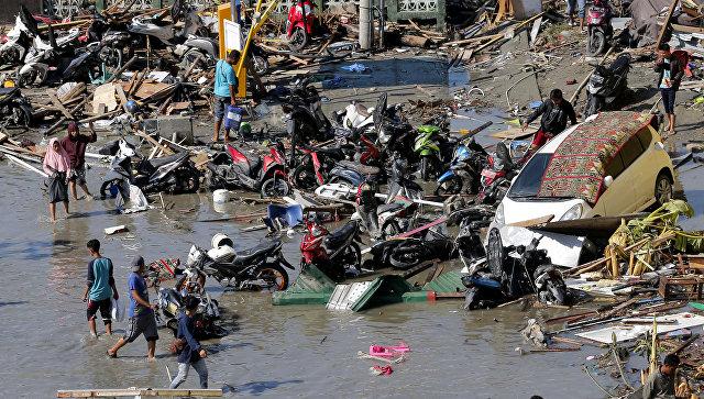 Последствия землетрясения и цунами в Индонезии. 30 сентября 2018