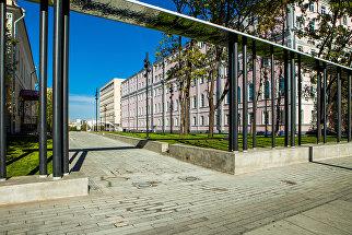 Проход в Парк Горького 1