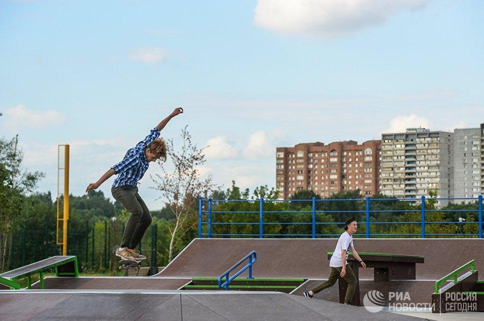 Парк Братеевская пойма в Москве