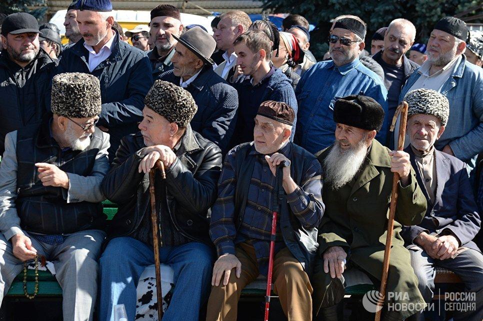 знакомство с чеченской республикой