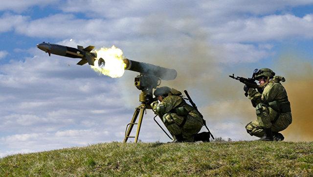 Контрольная проверка курсантов Учебного центра боевого применения ракетных войск и артиллерии Сухопутных войск Западного военного округа