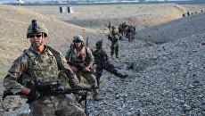 Военнослужащие НАТО в Афганистане. Архивное фото